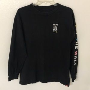 Vans Off The Wall Long Sleeve Graphic Top